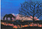 "ACEO L.E. horse print ""Fiery Sunset"" By Barb Brewer, thumbnail_release150_160627961167.jpg"