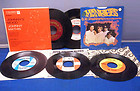 5 Vintage 1960s RECORDS 45 RPM MONKEES STONES MATHIS SEEKERS ROYAL GUARDSMEN, thumbnail_release160_370706608953.jpg