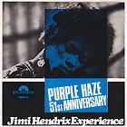 JIMI HENDRIX Purple Haze RARE Norway 45 UNIQUE norwegian b/w 51st Anniversary  , thumbnail_release64_331057525378.jpg