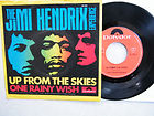 7' JIMI HENDRIX  -- UP FROM THE SKIES/ ONE RAINY WISH, thumbnail_release68_300631037187.jpg