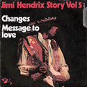 frontcover of Jimi Hendrix Story Vol 5