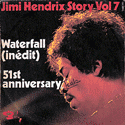 frontcover of Jimi Hendrix Story Vol 7