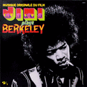 frontcover of Musique Originale du Film: Jimi plays Berkeley