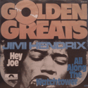 frontcover of Golden Greats - Hey Joe